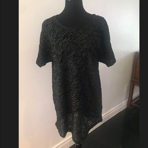 Zara Mesh T-shirt dress.